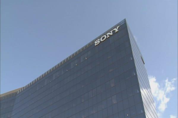 Sony reports 86% slump in profit