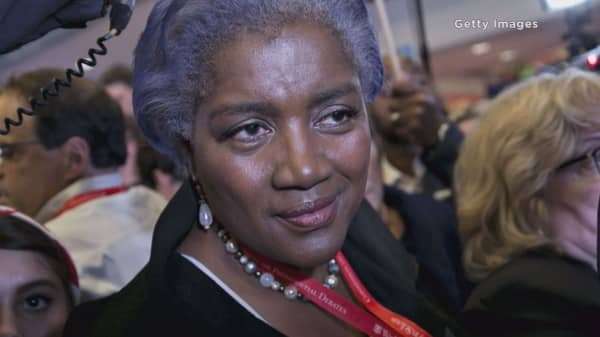 CNN says bye to Donna Brazile