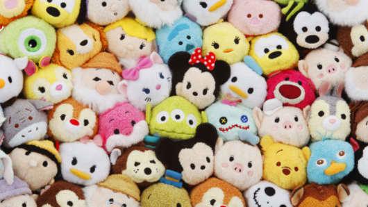 Tsum Tsum plush toys.
