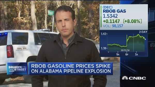 1 dead, 5 injured in Alabama gasoline pipeline explosion