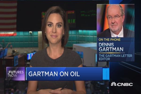 $40 oil is coming: Dennis Gartman