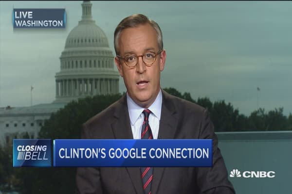 Clinton's Google connection