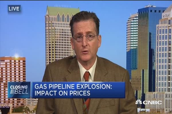 Gas pipeline explosion: Impact on prices