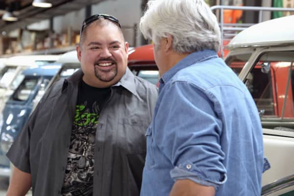 "Comedian Gabriel Iglesias shows off his new Volkswagen collection on ""Jay Leno's Garage."""