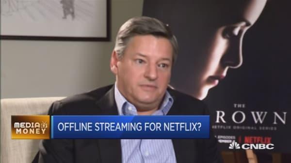 Offline streaming for Netflix?