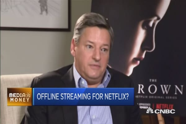 Offline streaming for Netflix?