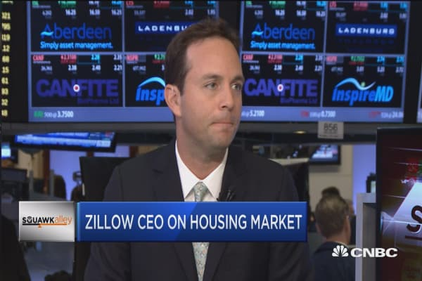 Zillow CEO: 'Sea change' in housing as millennials are buying