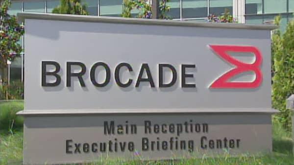 Brocade stock jumps on Broadcom deal