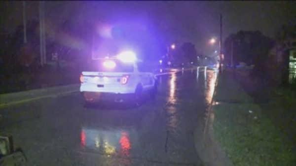 Suspect in Iowa police shooting in custody