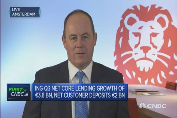 ING underlying ROE 11.3% for first 9 months