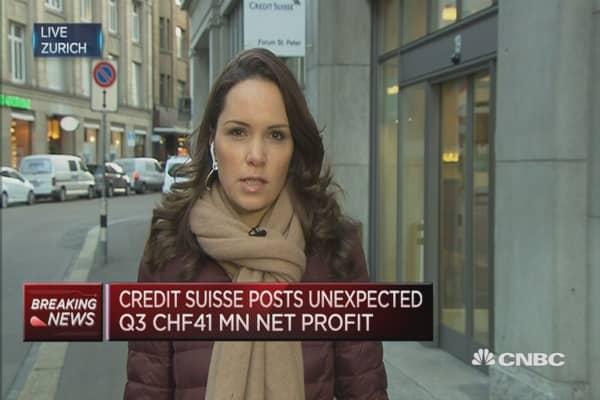 Credit Suisse Q3 profit beats analyst estimates