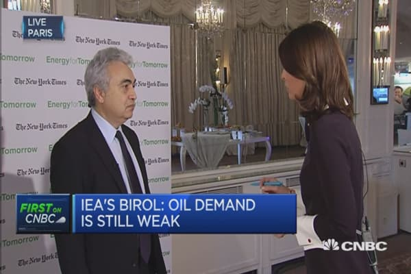 See more and more oil volatility ahead: IEA's Birol