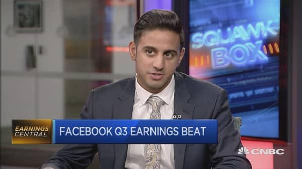 Facebook Q3 earnings beat
