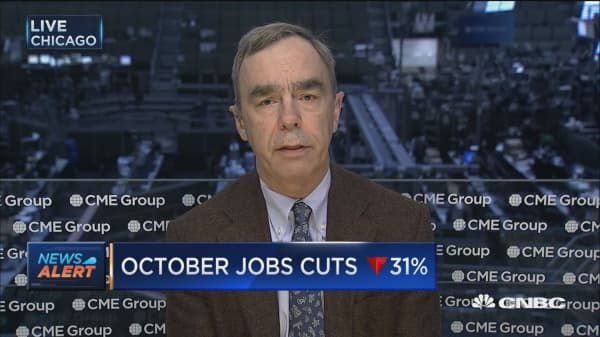 October job cuts down 31%: Report