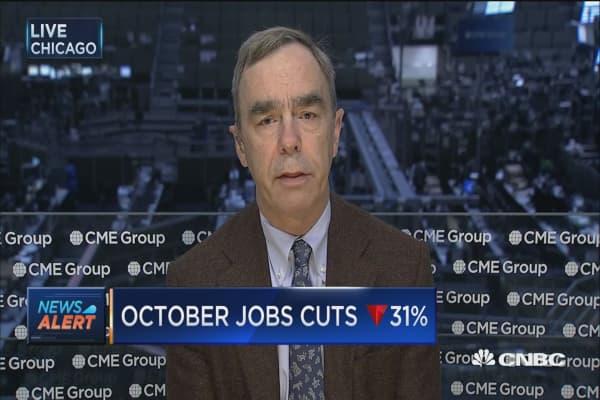 October job cuts down 31%: Report