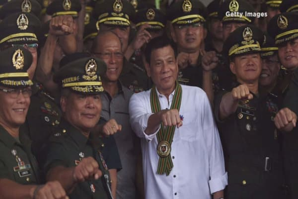 Duterte calls US 'monkeys' for halting sale of guns