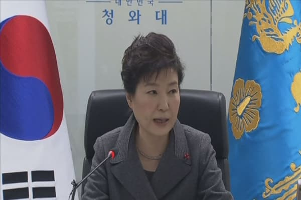 South Korea's President reshuffles cabinet amid scandal