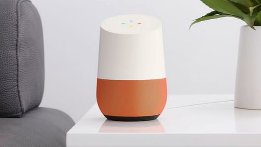 Google used the Super Bowl to plug its Google Home connectivity service f9eaed32e