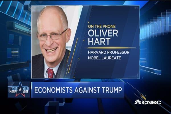 Nobel laureate: Trump presidency 'disastrous' for the economy