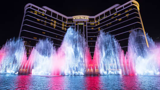 The Wynn Palace casino in Macau.