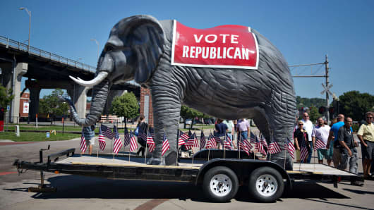 GOP Elephant Republican