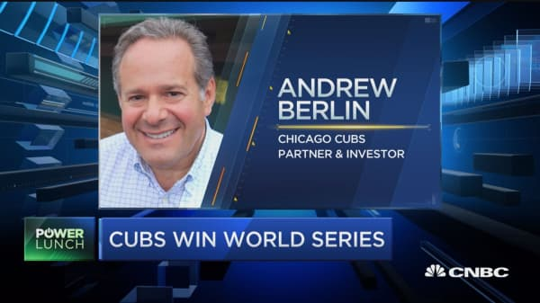 Berlin on Cubs: This is better than being a 'loveable loser'
