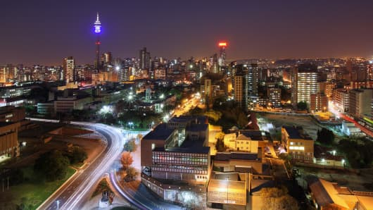 City of Johannesburg, South Africa