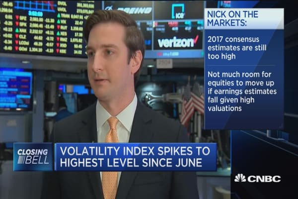 Nick: Election uncertainty creeping into the markets