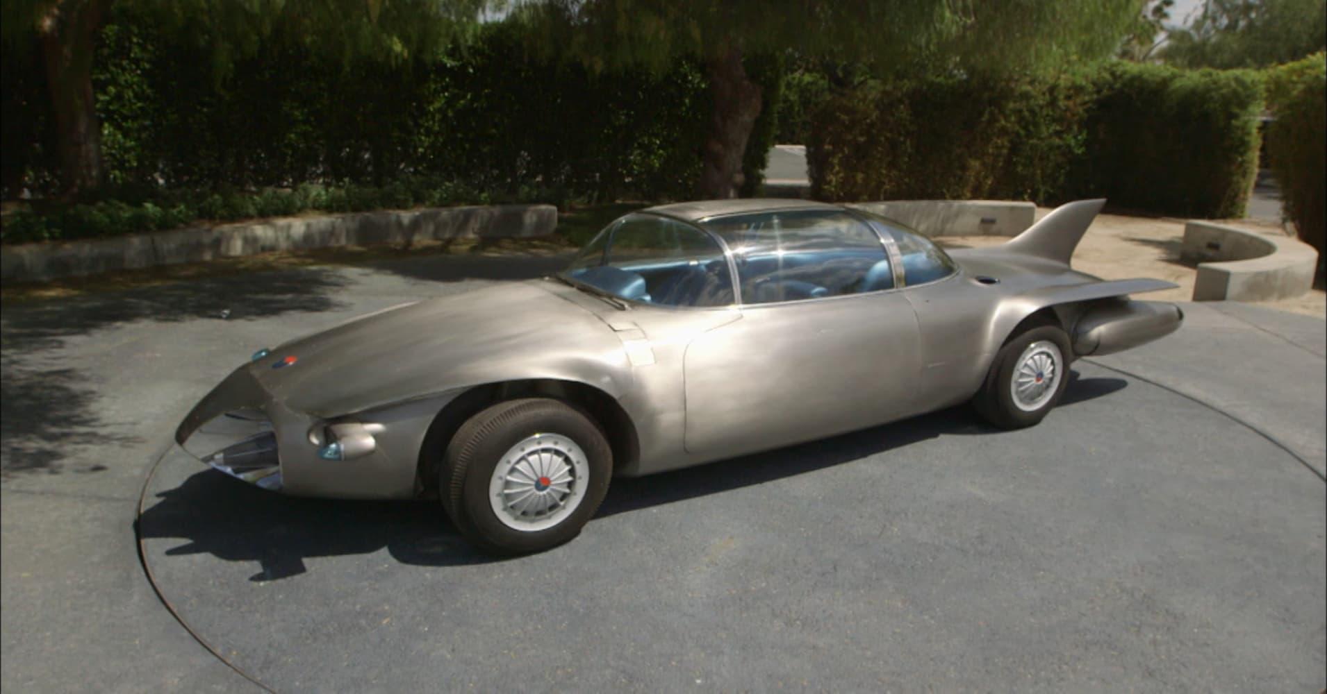 Self-driving\' 1956 concept car shows how far Tesla has advanced ...