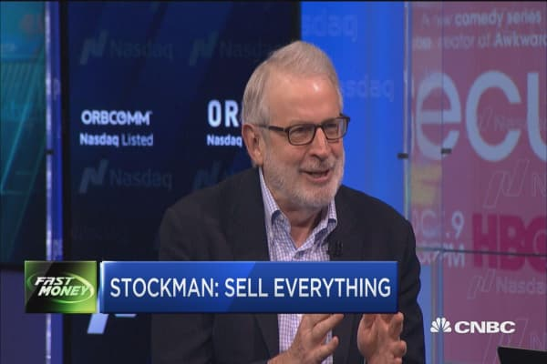 Stockman: Sell everything