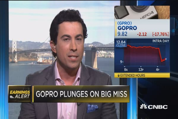 GoPro CEO: We are experiencing production issues