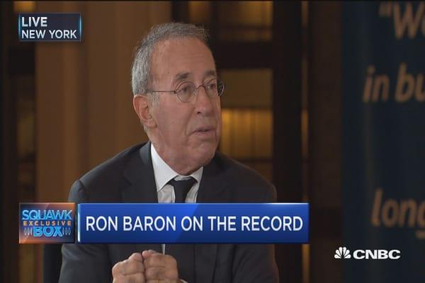 Ron Baron's market strategy