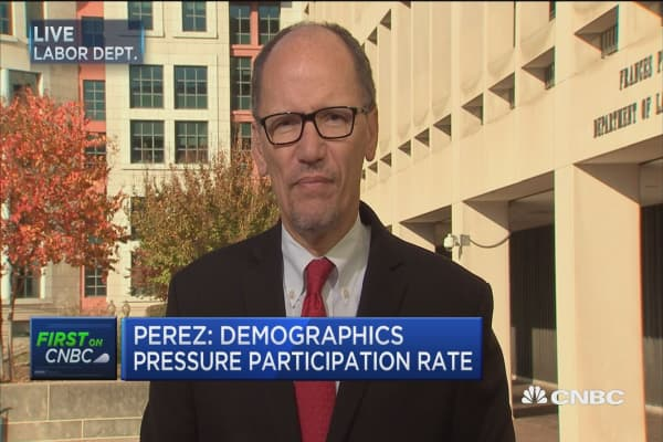 Labor Sec.: Economy still has slack and we can do even better