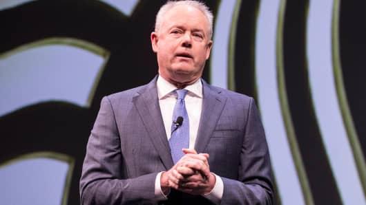 Starbucks CEO Kevin Johnson