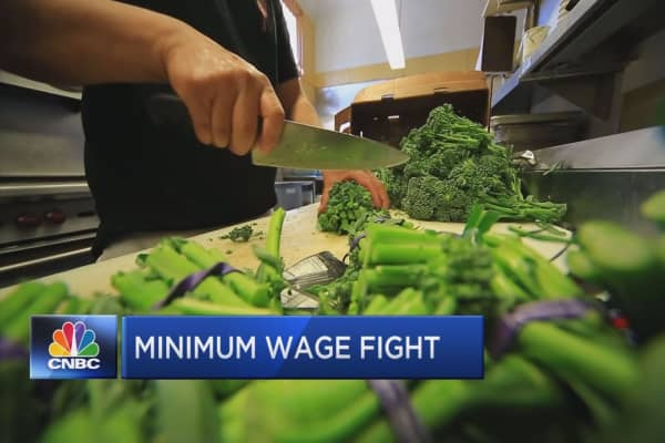 States gearing up for higher wages