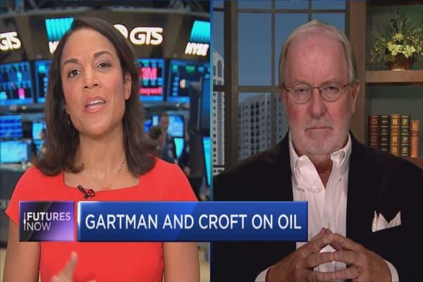Dennis Gartman debates Helima Croft on oil's next stop