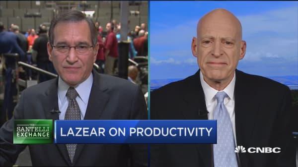 Santelli Exchange: Ed Lazear on the jobs report