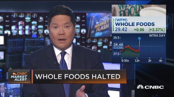 Activist investors eyeing Whole Foods: Report