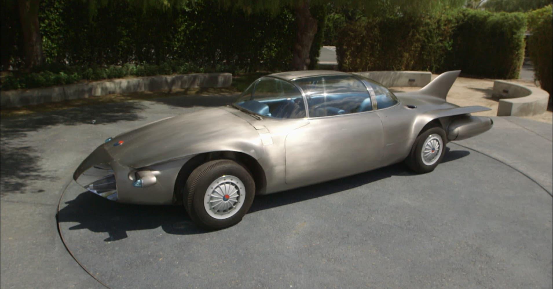 'Self-driving' 1956 concept car shows how far Tesla has ...