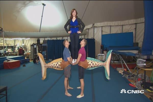 Landing a job at Cirque du Soleil