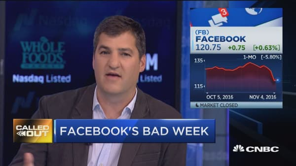 Facebook's bad week