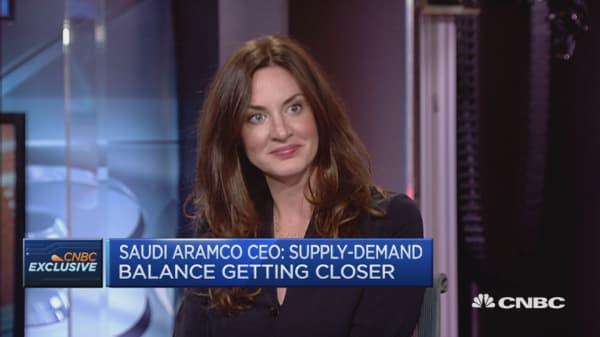 Supply-demand balance getting closer: Saudi Aramco CEO