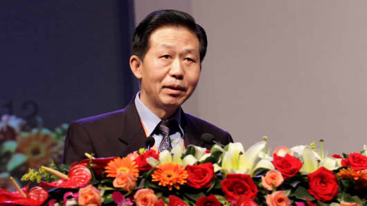 Xiao Jie, former tax chief and Minister of Finance deputy minister in 2012.