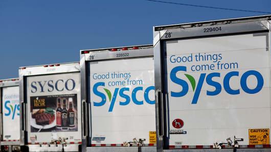 Sysco trucks