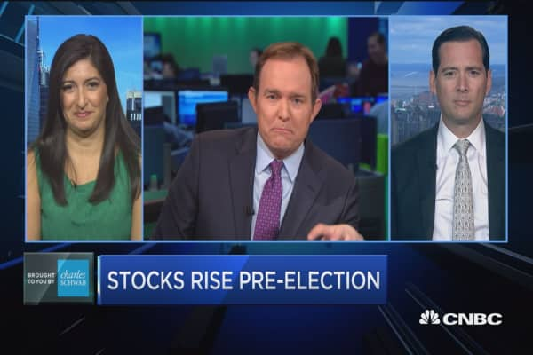 Trading Nation: Stocks rise pre-election