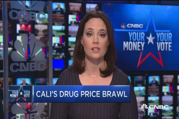 Cali's drug price brawl
