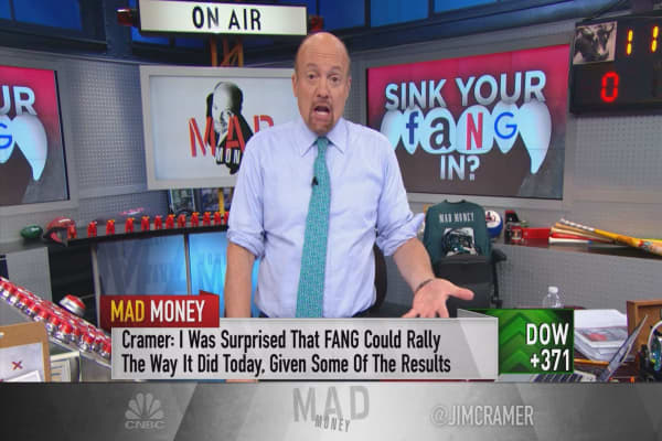 Cramer reveals an incredible stock phenomenon he's seen every year for the past 35 years