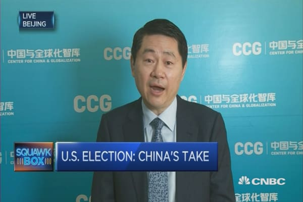 China's take on the US election
