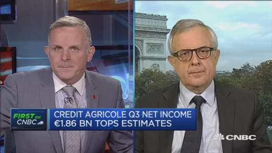 Credit Agricole boosts capital base