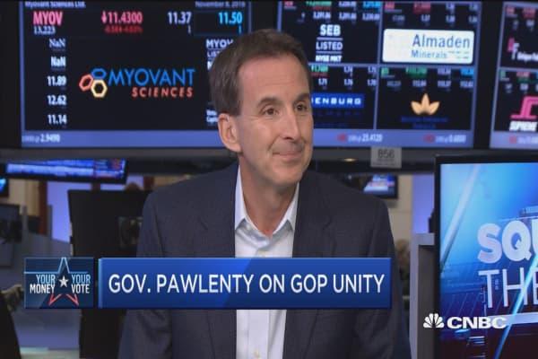 Gov. Pawlenty: I didn't vote for Hillary Clinton